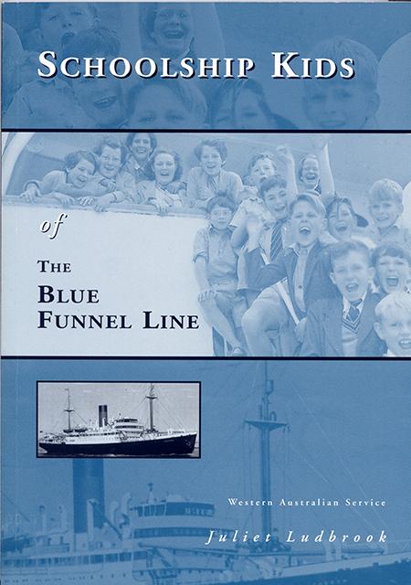 Schoolship Kids of the Blue Funnel Line by Juliet Ludbrook