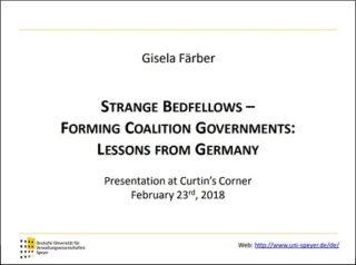 Gisela Farber Curtin Corner presentation