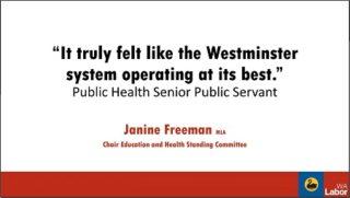 Janine Freeman Curtin Corner presentation
