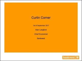Alan Langford Curtin Corner presentation