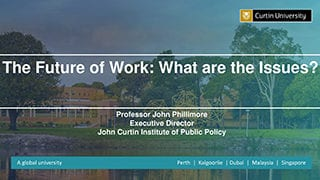 Curtin Corner FoWI presentation by John Phillimore