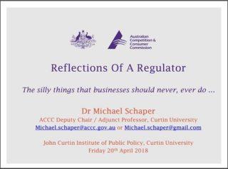 Michael Schaper Curtin Corner presentation