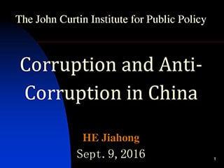 Prof. Jiahong Curtin Corner slides