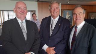 Alan Duncan, Kim Beazley and John Phillimore