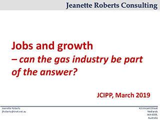 Jeanette Roberts Curtin Corner presentation