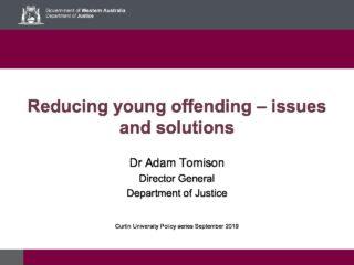 Dr Tominson presentation