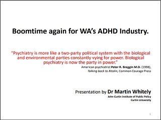 Martin Whitely Curtin Corner presentation