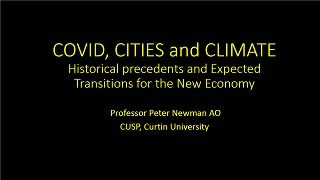 Curtin Corner Peter Newman presentation