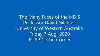 David Gilchrist JCIPP presentation