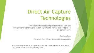 Rob Meecham Curtin Corner presentation