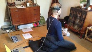 Dr Biedermann researches whether meditation can enhance word retrieval.